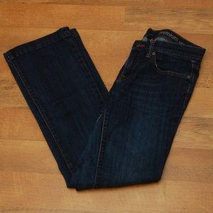 Gap Long & Lean Bootcut Jeans, 6L